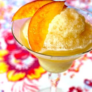 Frozen Peach Daiquiri.