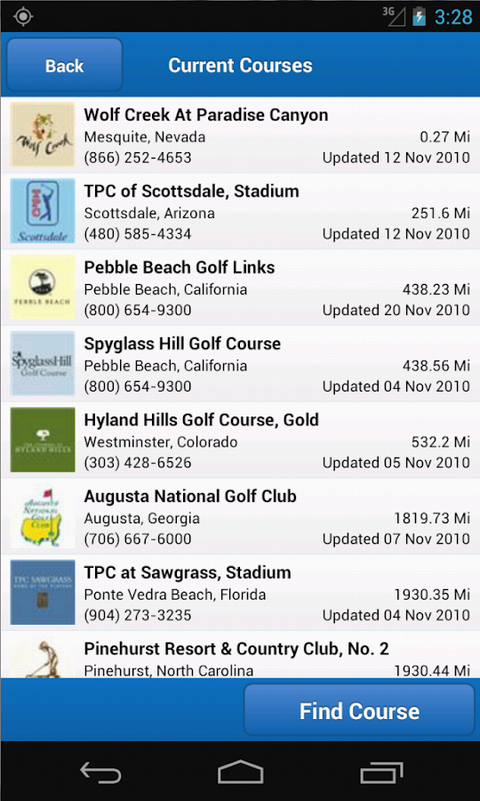 Golf Frontier Pro - Golf GPS - screenshot