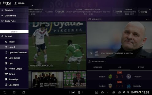 beIN SPORTS - screenshot thumbnail