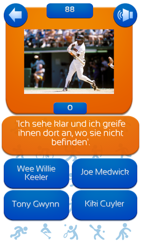 Baseball Quiz Deutsch