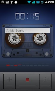 Easy Sound Recorder - screenshot thumbnail