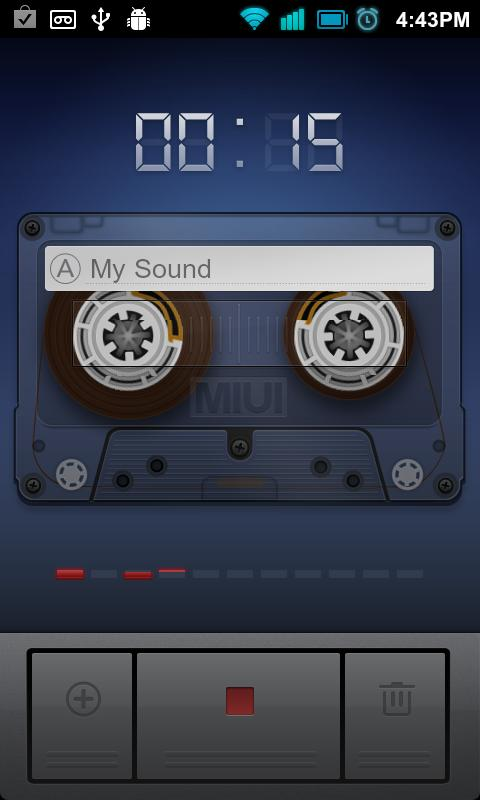 Easy Sound Recorder - screenshot