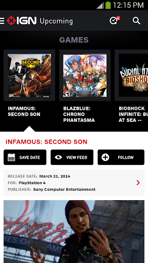 Screenshot 4 for IGN's Android app'