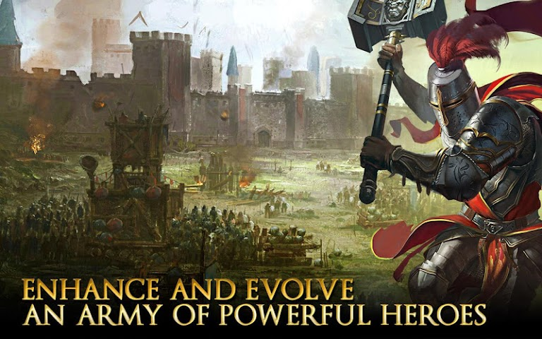 android Heroes of Camelot Screenshot 10