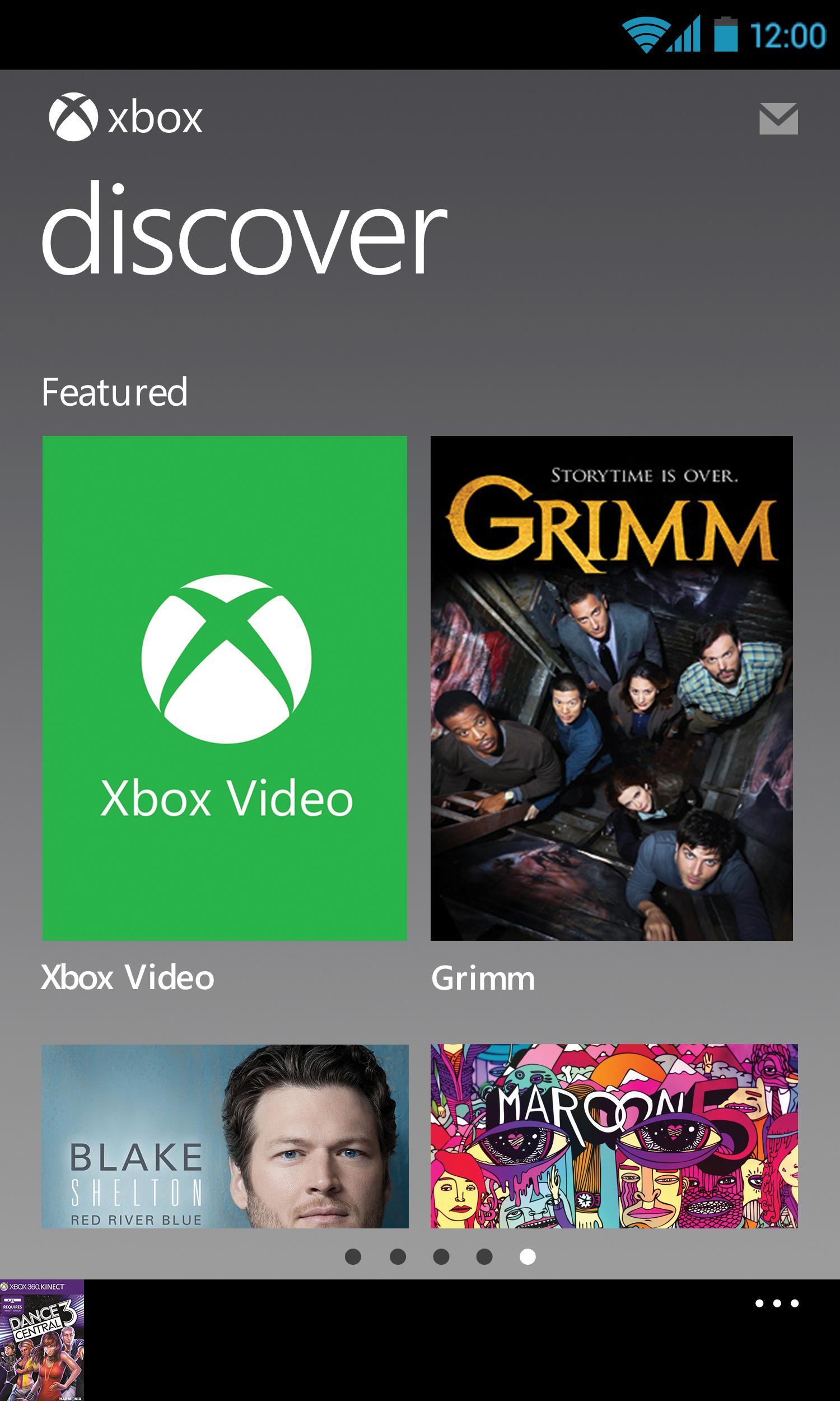 Xbox 360 SmartGlass screenshot #3