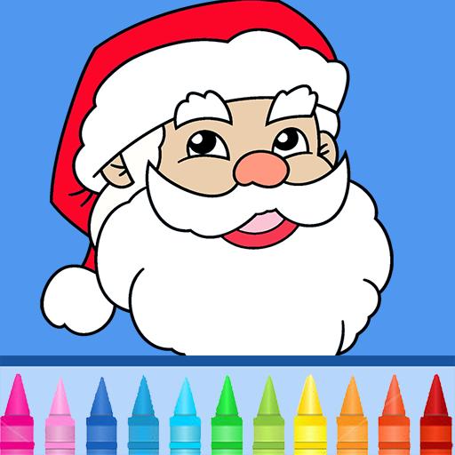 聖誕節著色頁 LOGO-APP點子
