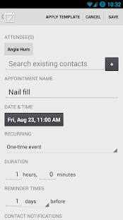 Appointment Keeper - screenshot thumbnail