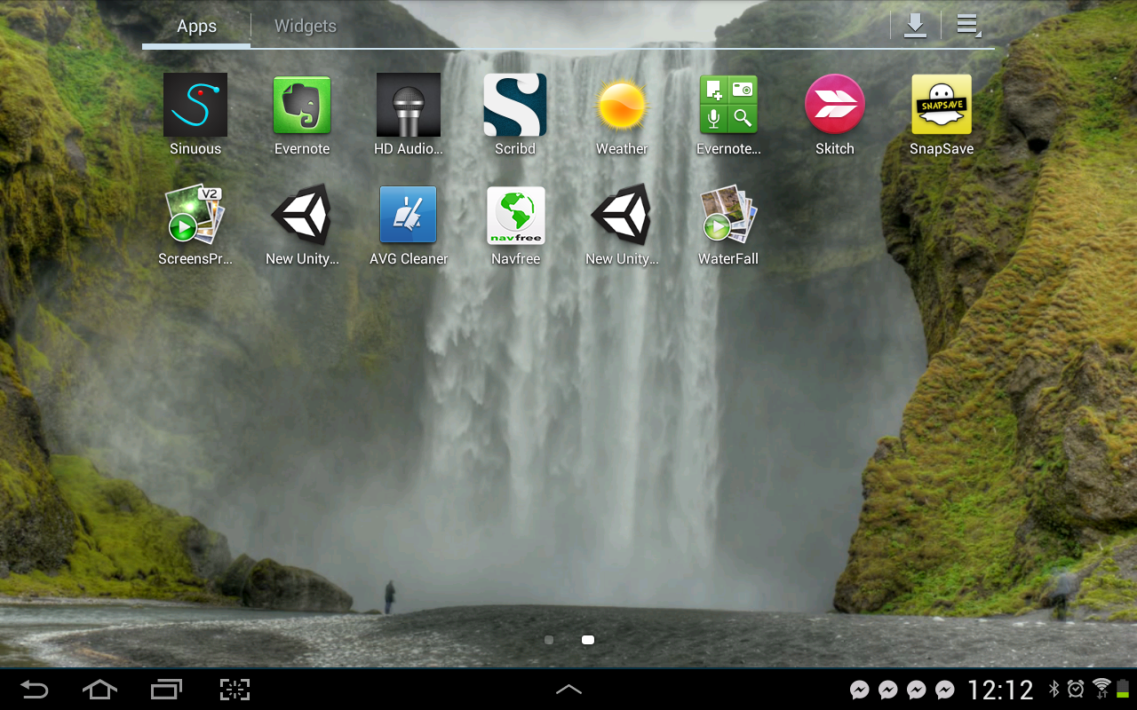Waterfall Video Live Wallpaper - screenshot