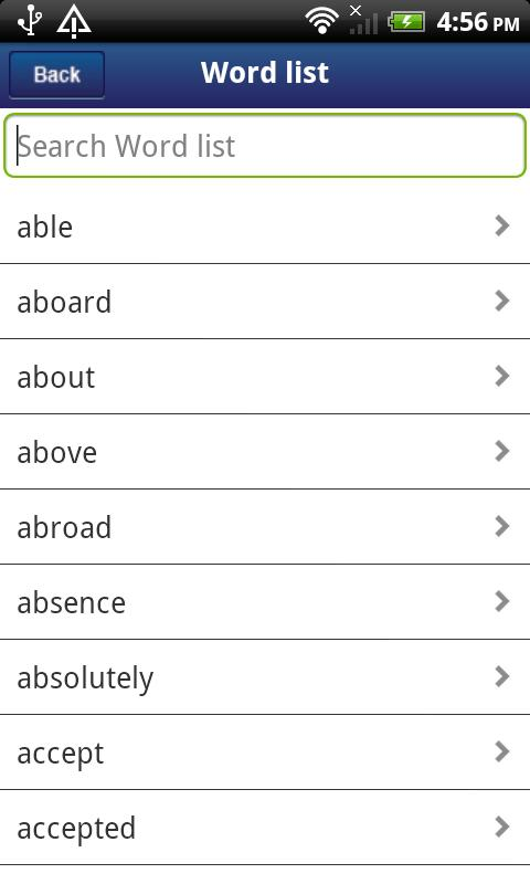 English Grammar Activities - screenshot