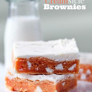 Creamsicle Brownies