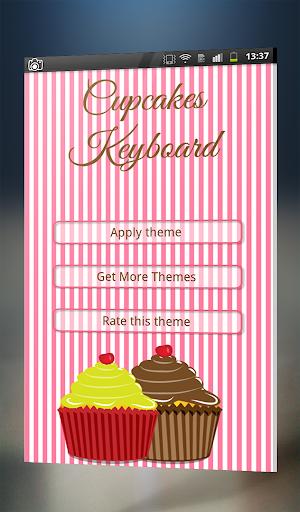 Cupcakes Keyboard Theme