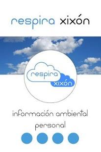 Respira Xixón app - screenshot thumbnail