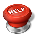 Emergency help button icon