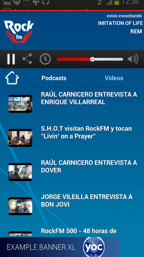 RockFM- screenshot