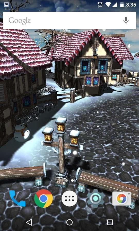 Cartoon Village 3D- screenshot