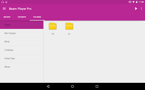 Beam Player Pro(Folder Player) v2.4.4