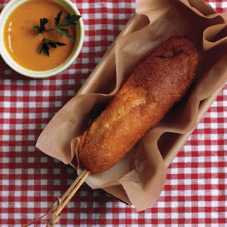 Andouille Corn Dogs.