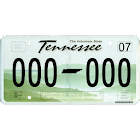 Tennessee County Plates icon