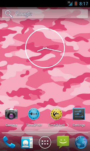 Pink Camo Live Wallpaper Free