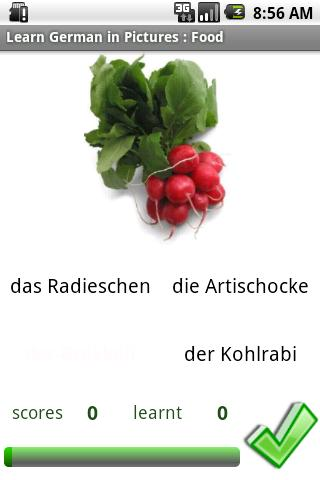 German in Pictures: Food- screenshot