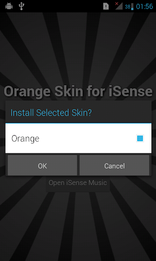 Orange Skin for iSense Music
