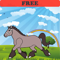 Coloring Book: Horses! FREE icon
