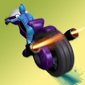 Alien Space Bike Racing 3D