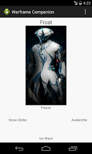 Warframe Companion - screenshot thumbnail