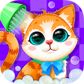 Kitty Spa: Bubble Wash Salon