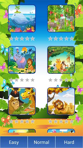 玩免費解謎APP|下載動物園卡通動物與拼圖 app不用錢|硬是要APP