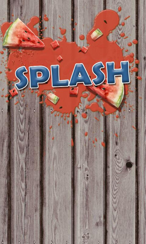 Splash - screenshot