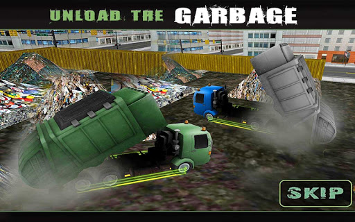 City Garbage Truck Driver 3D