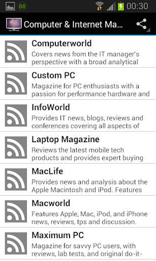 Computer Internet Magazines