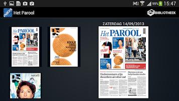 Screenshot of Het Parool