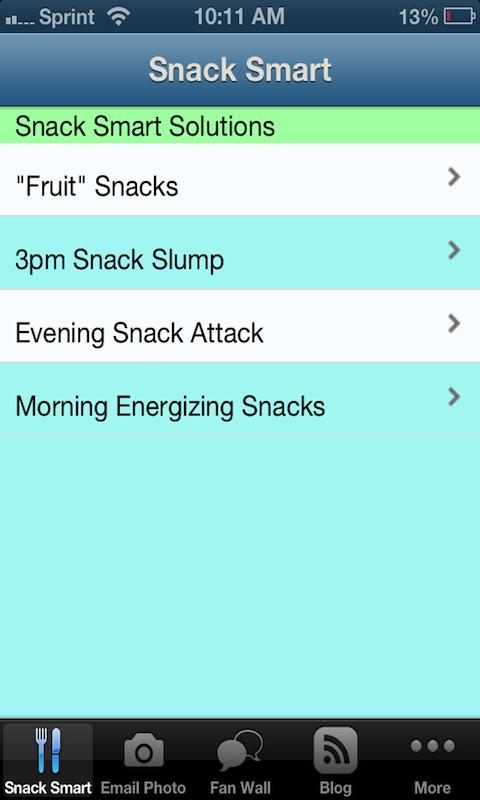 Snack Smart Solutions - screenshot