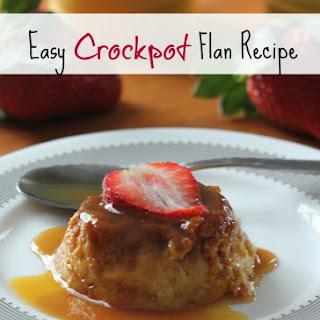 Crockpot Flan