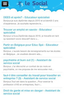 LeSocial.fr- screenshot thumbnail