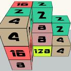 Rubik's 2048 icon