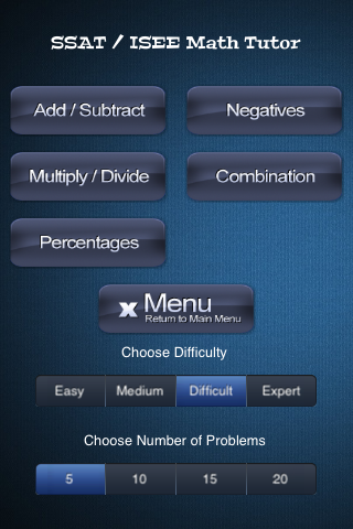 教育必備APP下載|SSAT & ISEE Math Tutor Full 好玩app不花錢|綠色工廠好玩App