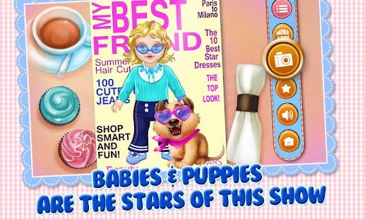 Baby & Puppy - Care & Dress Up - screenshot thumbnail