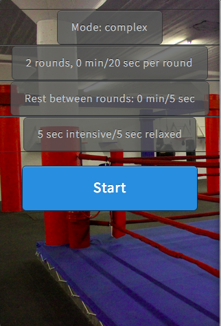 【免費健康App】Yoba simple boxing timer-APP點子
