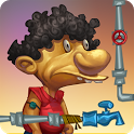 Slumdog Plumber & Pipes Puzzle icon