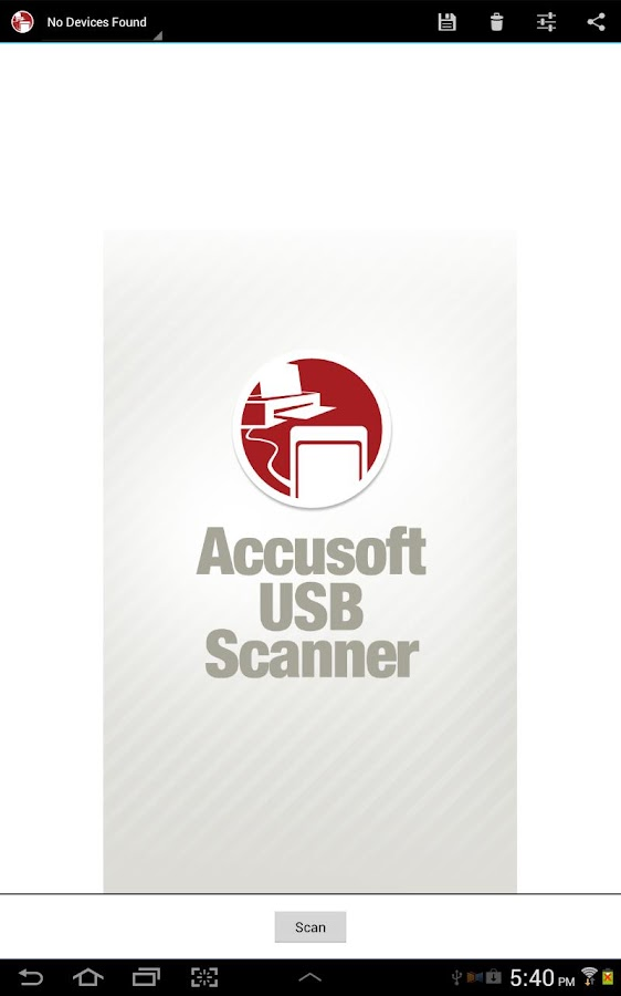 USB Scanner - screenshot