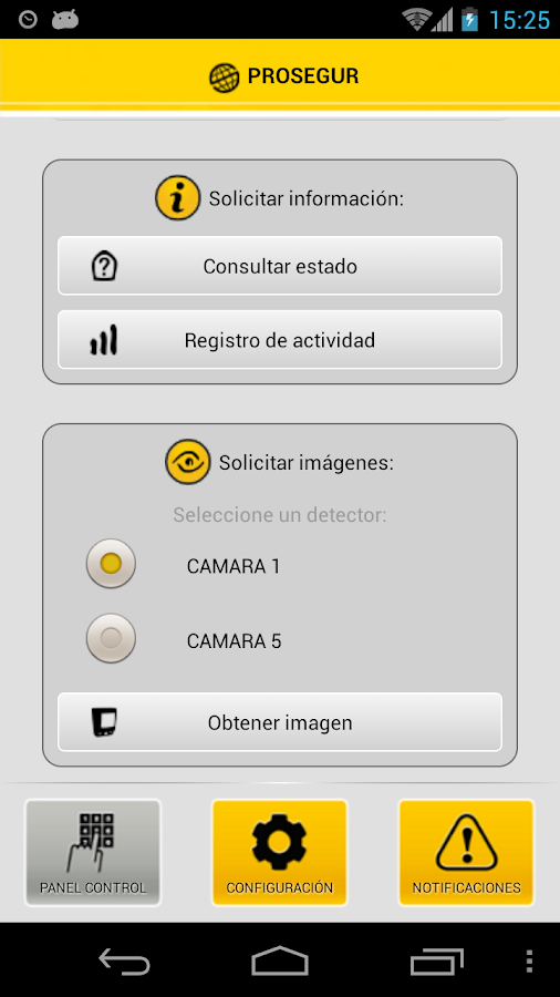 Prosegur ProMobile- screenshot