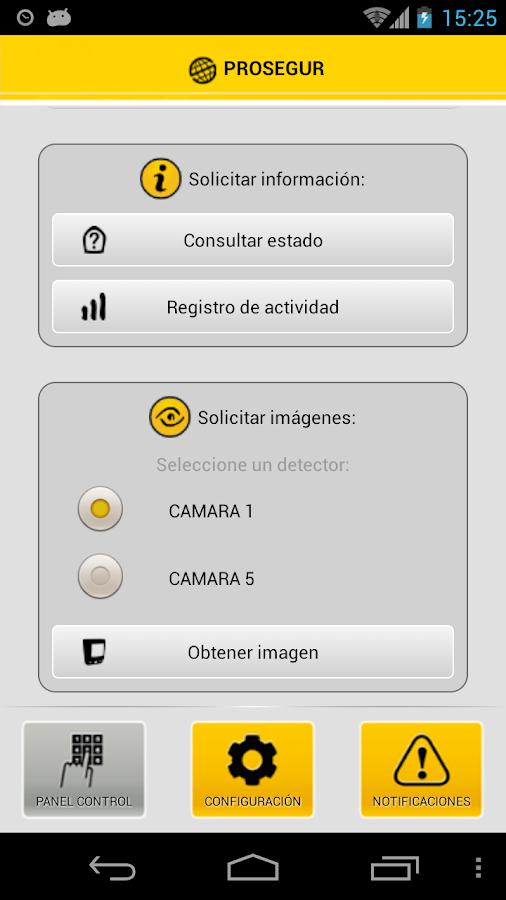 Prosegur ProMobile - screenshot