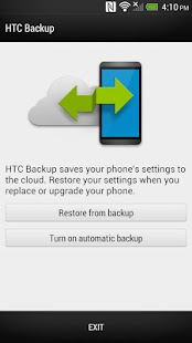 HTC Backup for HTC One - screenshot thumbnail
