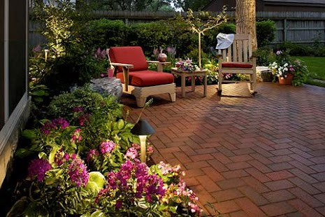 garden design ideas screenshot thumbnail - Brown Garden Design