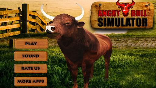 憤怒的公牛3D模擬器