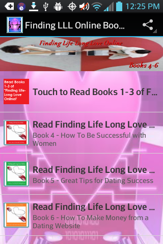 Find Life-Long Love Books 4-6