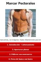 Screenshot of Ejercicios Pectorales